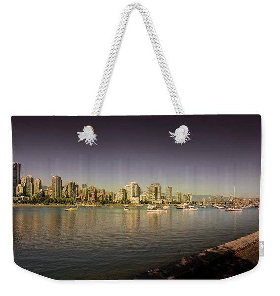 Vancouver In Magical Hours Weekender Tote Bag