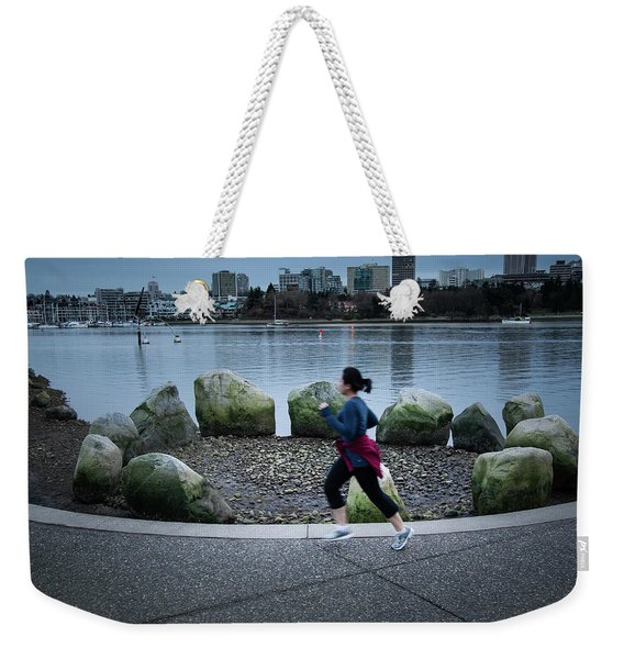Weekender Tote Bag featuring the photograph Vancouver Landscape by Juan Contreras