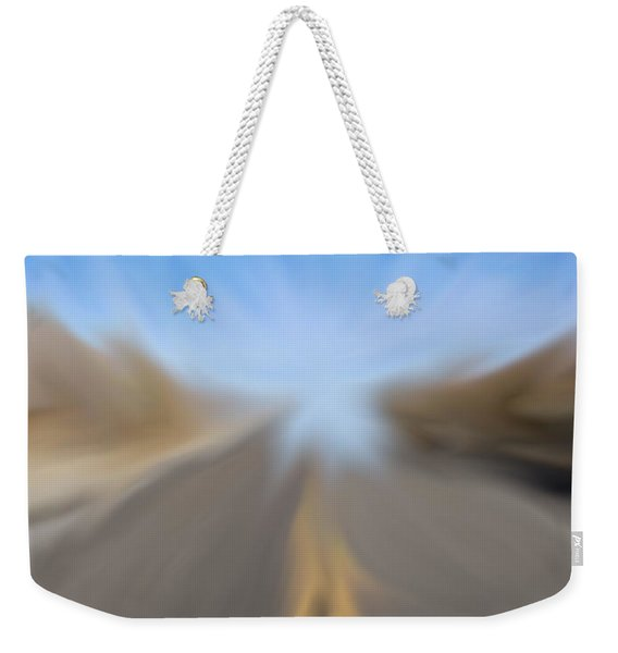 Vanishing Poiint Weekender Tote Bag