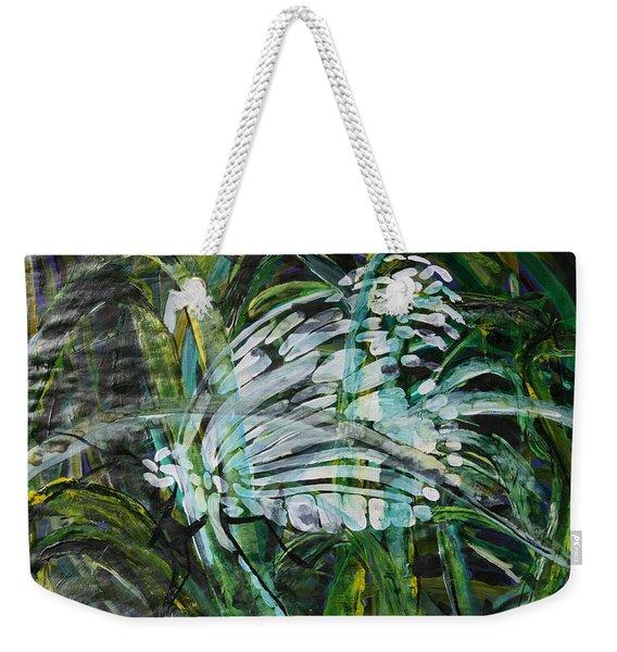 Vanishing Point Weekender Tote Bag