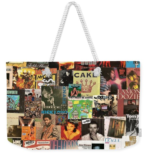 Various Artists Lp Collage 4 Weekender Tote Bag