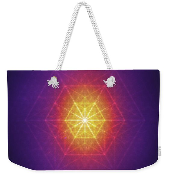 Vector Equilibrium Weekender Tote Bag