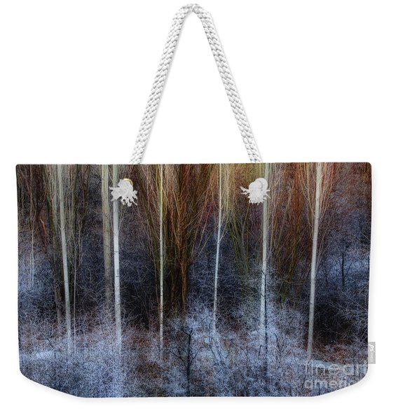 Veins Of Forest Weekender Tote Bag