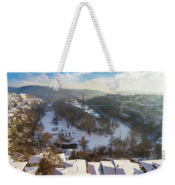 Veliko Turnovo City Weekender Tote Bag