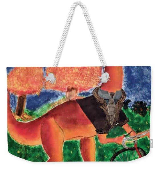 Veloci-saurus Weekender Tote Bag