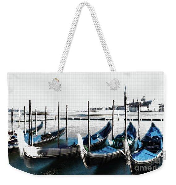 Venezia High-key, Italy Weekender Tote Bag