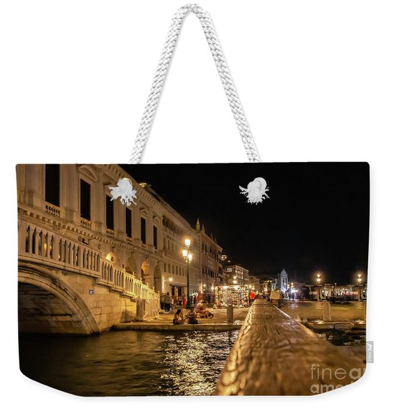 Venice At Night. San Marco Weekender Tote Bag