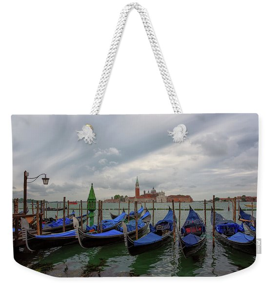 Venice Gondola's Grand Canal Weekender Tote Bag