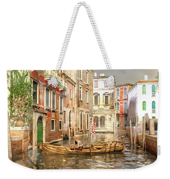 Venice The Little Yellow Duck Weekender Tote Bag