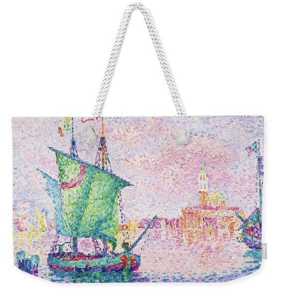 Venice, The Pink Cloud - Digital Remastered Edition Weekender Tote Bag