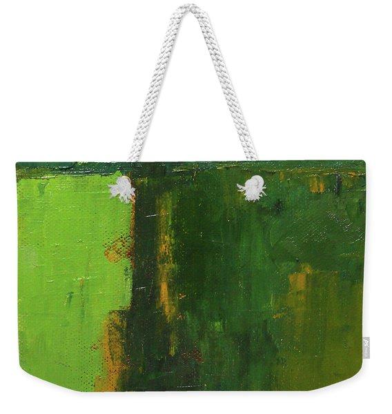 Verdant Abstract Weekender Tote Bag