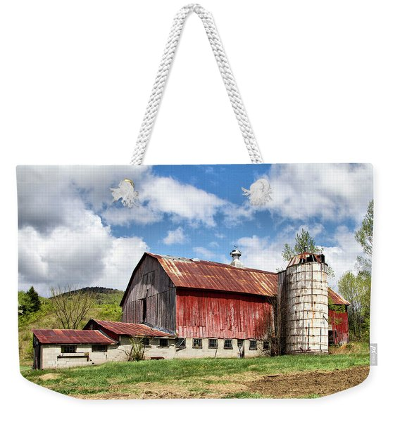 Vermont Barn And Silo  Weekender Tote Bag