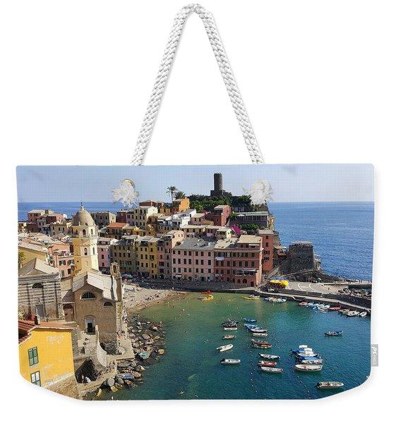 Vernazza Weekender Tote Bag