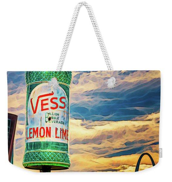 Vess Soda Bottle Weekender Tote Bag