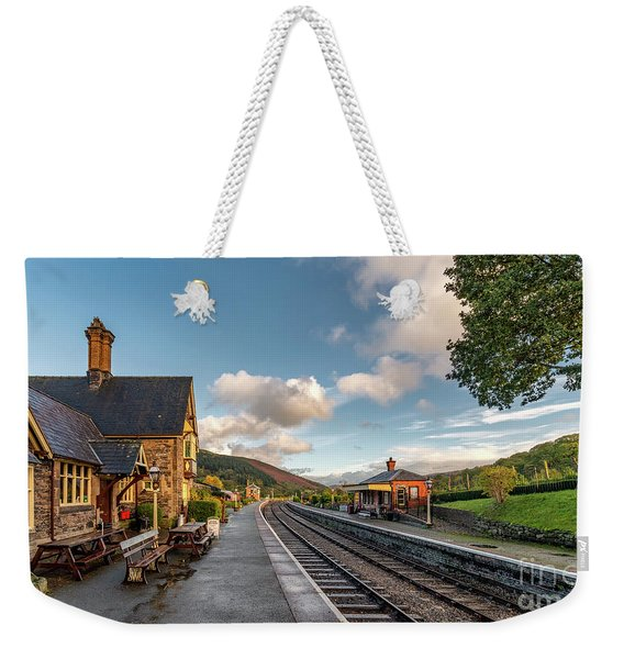 Victorian Railway Tea Room Weekender Tote Bag