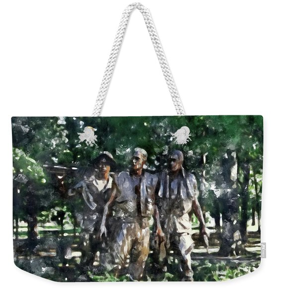 Vietnam Veteran Memorial Weekender Tote Bag