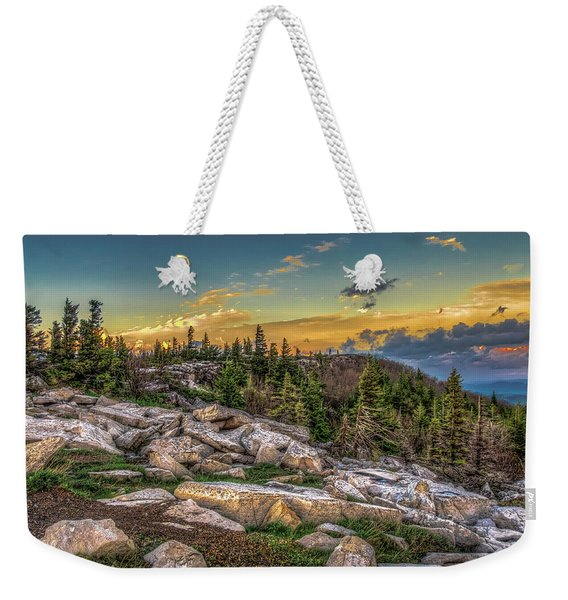 View From Dolly Sods 4714 Weekender Tote Bag