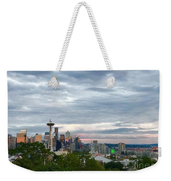 View From Queen Anne, Weekender Tote Bag