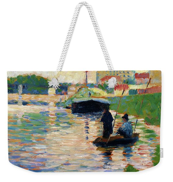 View Of The Seine - Digital Remastered Edition Weekender Tote Bag
