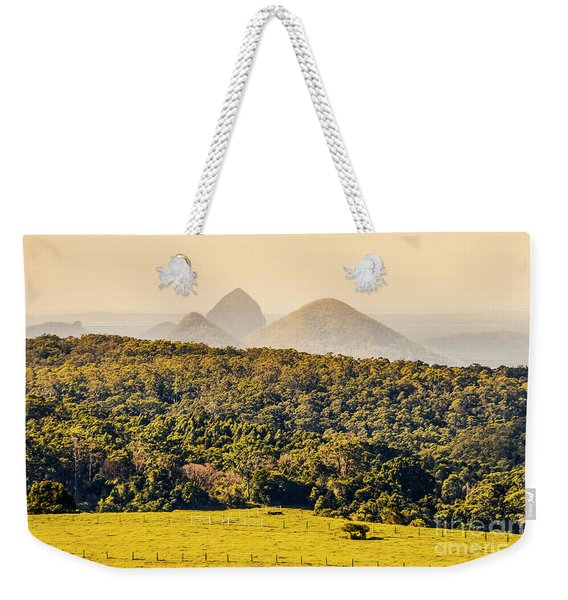 View To The Sunshine Coast Weekender Tote Bag