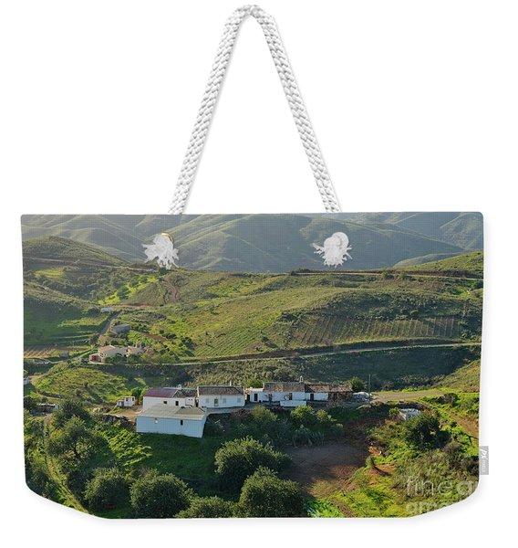 Village Hidden In The Mountains Weekender Tote Bag