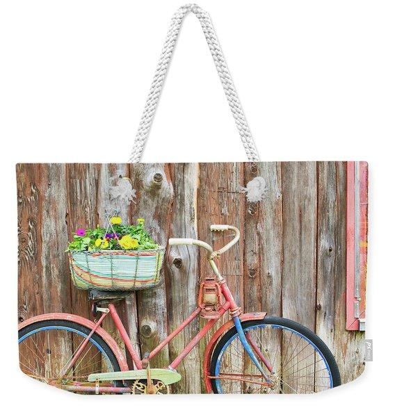 Vintage Bicycles Weekender Tote Bag