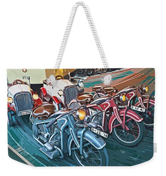 Vintage Carousel Weekender Tote Bag