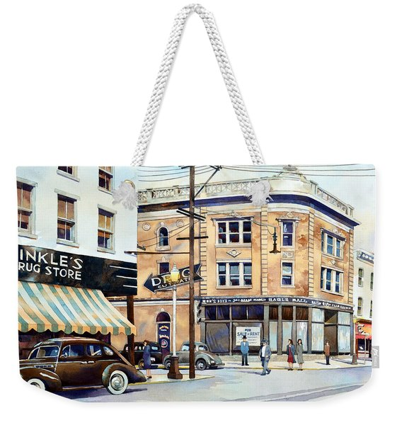 Vintage Color, Hinkle's Weekender Tote Bag