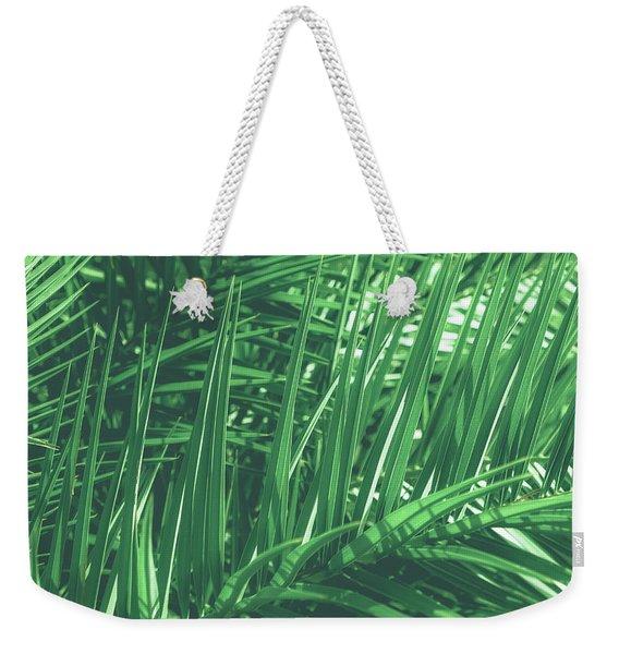 Vintage Palms V Weekender Tote Bag