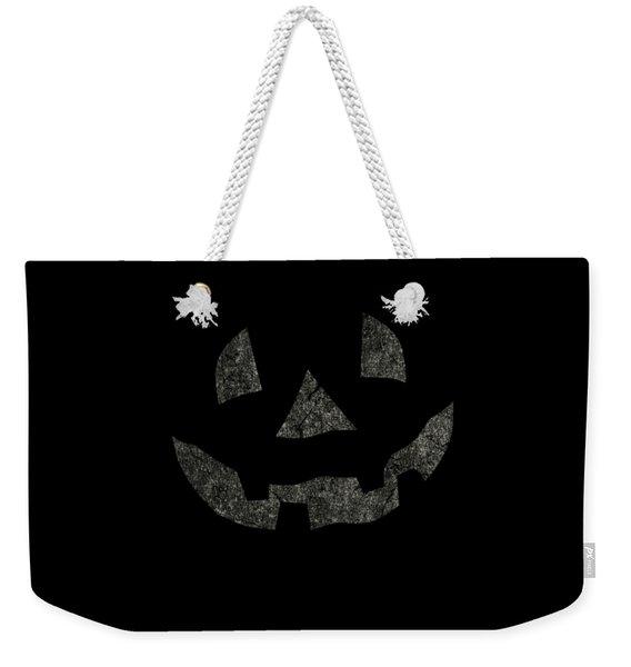 Vintage Pumpkin Face Weekender Tote Bag