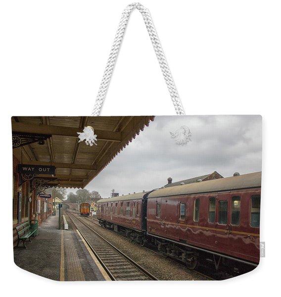 Vintage Railways Weekender Tote Bag