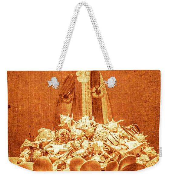 Vintage Summer Still Weekender Tote Bag