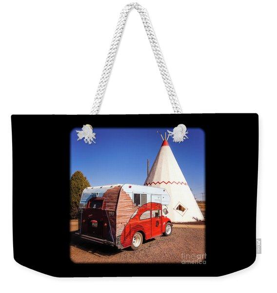 Vintage Volkswagon Beatle Camper  Weekender Tote Bag
