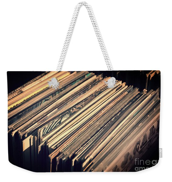 Vinyl Records Weekender Tote Bag