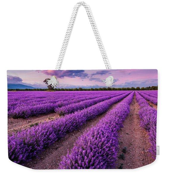 Violet Dreams Weekender Tote Bag