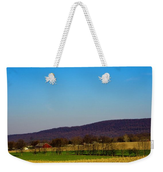Virginia Mountain Landscape Weekender Tote Bag
