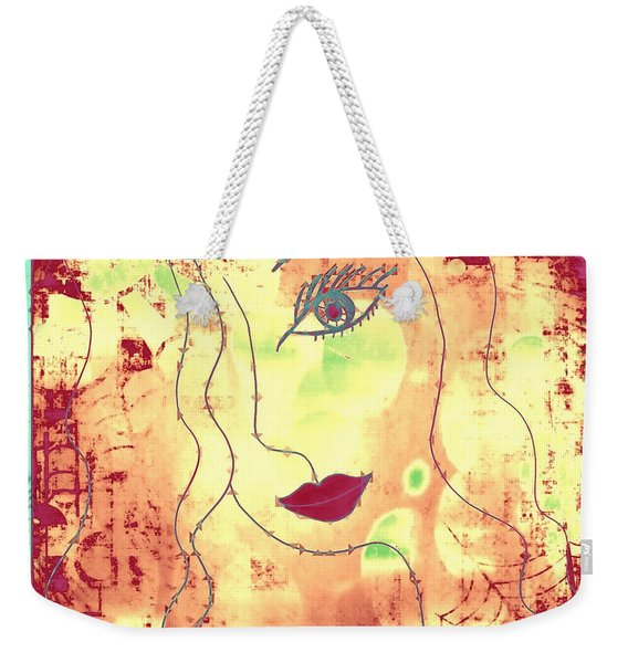 Visage De Lumiere Weekender Tote Bag