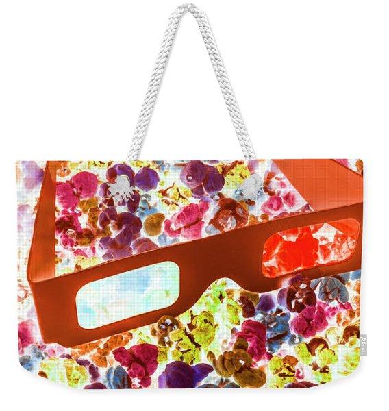 Visual Pop Art Weekender Tote Bag