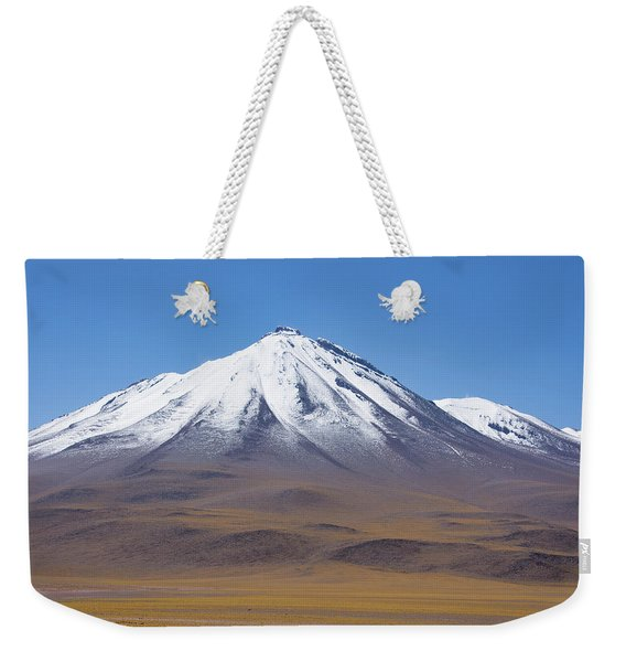 Volcano On The Altiplano Weekender Tote Bag