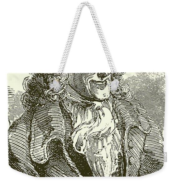 Voltaire, Engraving Weekender Tote Bag