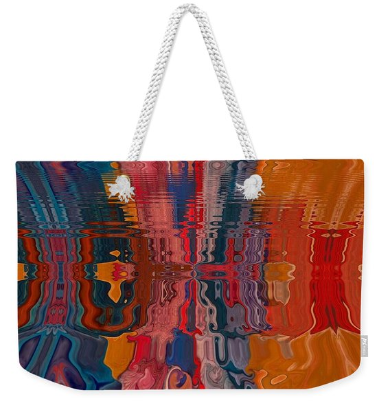 Weekender Tote Bag featuring the digital art Von Freestyle by A zakaria Mami