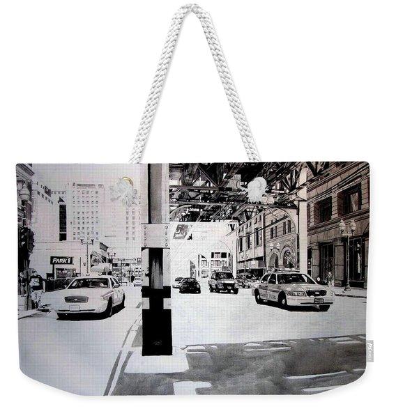Wabash Weekender Tote Bag