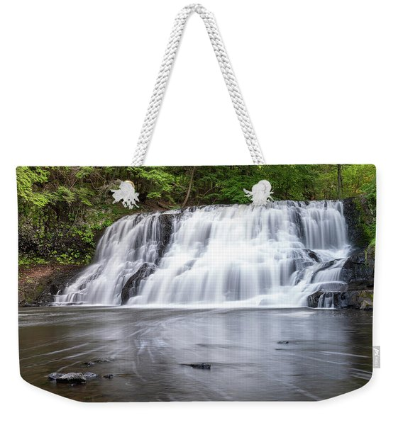 Wadsworth Falls In Middletown, Connecticut U.s.a.  Weekender Tote Bag