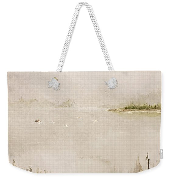 Waiting For The Eagle To Come Weekender Tote Bag