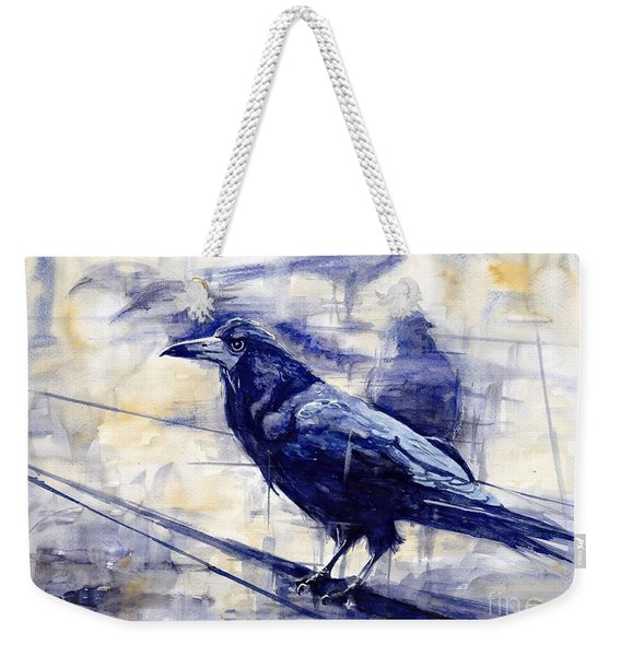 Waiting For The Lonely Train Weekender Tote Bag