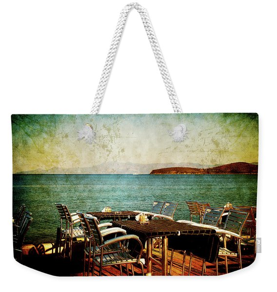 Waiting For The Right People Weekender Tote Bag