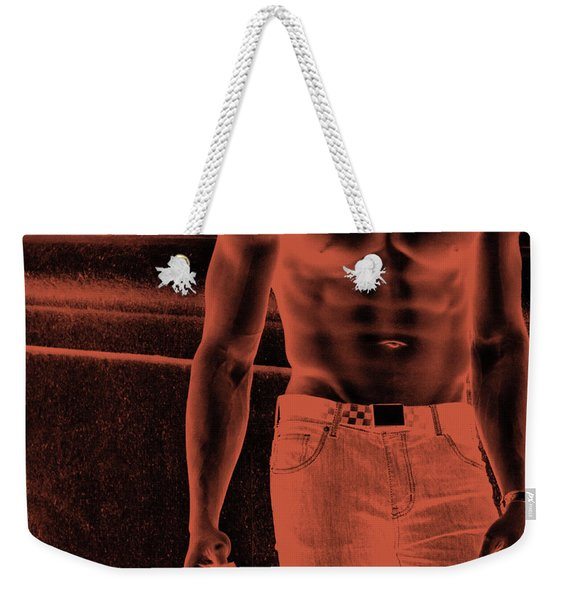Waiting For You 3 Weekender Tote Bag