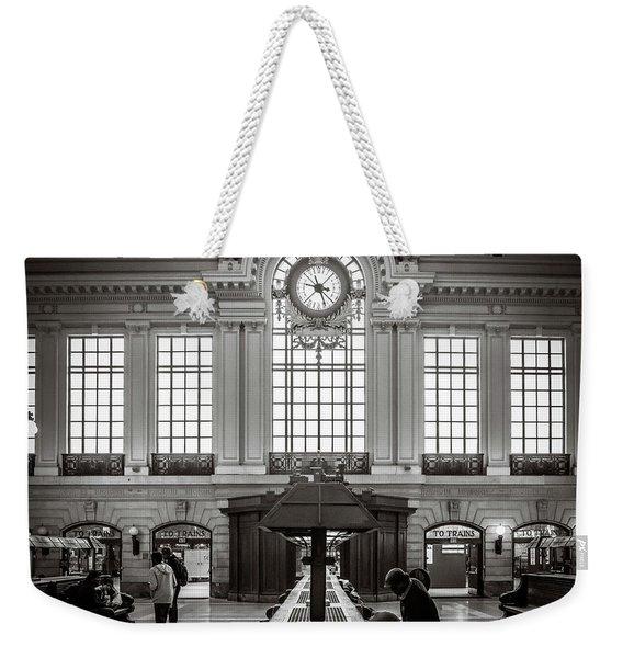 Waiting Room Weekender Tote Bag