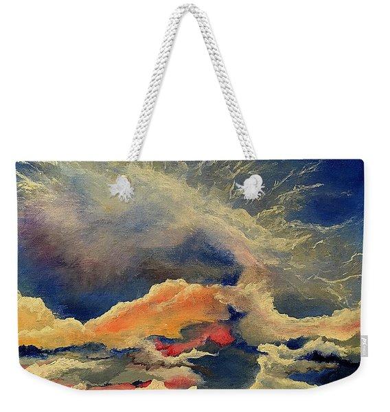 Wake. Up. Now. Weekender Tote Bag