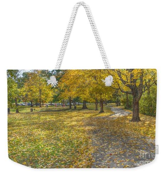 Walk In The Park @ Sharon Woods Weekender Tote Bag